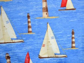 Интерьерные ткани  Soto Grande POSITANO морской тематики